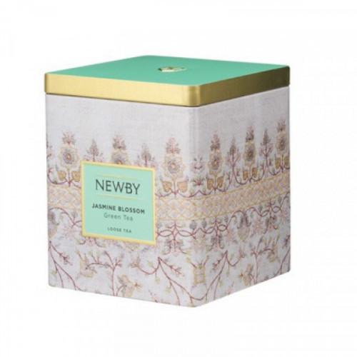 Чай в жестяной банке Newby Teas ЦВЕТОК ЖАСМИНА КЛАССИК 125 грамм