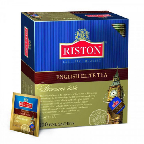 Чай Riston Английский элитный бергамот 2г 100 пакетиков