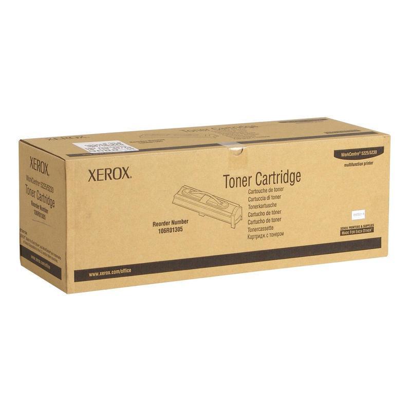 Тонер-картридж Xerox 106R01305 черный оригинальный