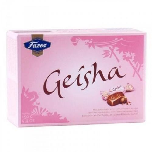 Конфеты шоколадные Geisha с тертым орехом 150 грамм