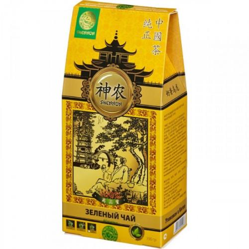 Чай Shennun Молочный Улун зеленый листовой 100 грамм