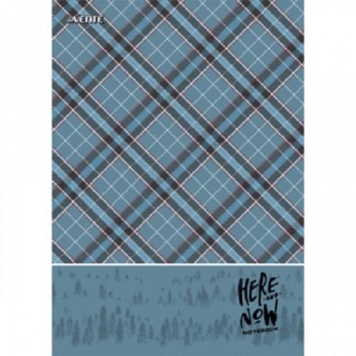 """Тетрадь A4 80 листов """"deVENTE. Scottish style"""" в клетку, обложка целлюлозный картон + ВД-лак, на спирали"""
