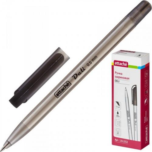 Ручка шариковая Attache Deli черная