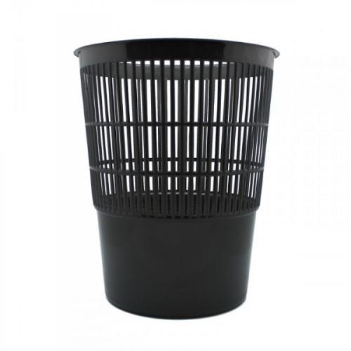 Корзина для мусора Attache 14 литров пластиковая черная