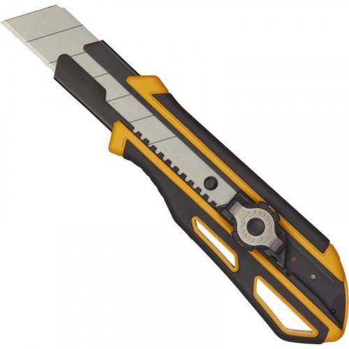 Нож универсальный 25мм Attache Selection Supreme,,фиксатор,прорезин корпус