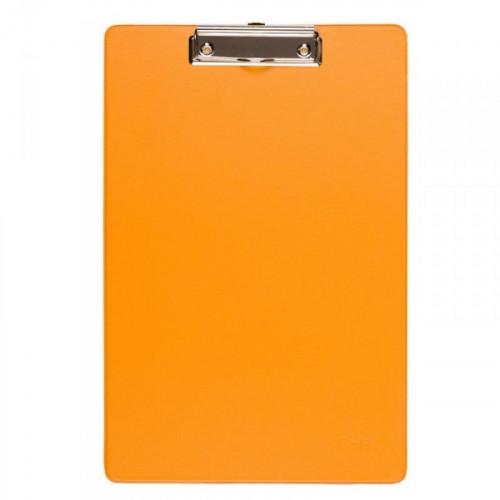 Папка-планшет Bantex картонная оранжевая 2.7 мм