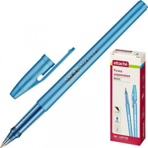 Ручка шариковая Attache Basic 0,5 мм масляные синий Россия