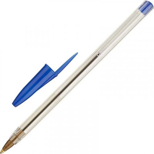 Ручка шариковая супер-эконом, прозрачный корпус