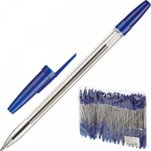 Ручка шариковая Оптима РО20 Стамм 0,7 мм синий масляная