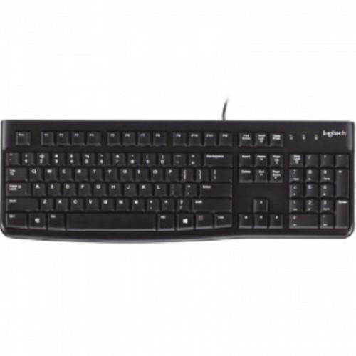 Клавиатура Logitech Keyboard K120 For Business Black USB (920-002522)