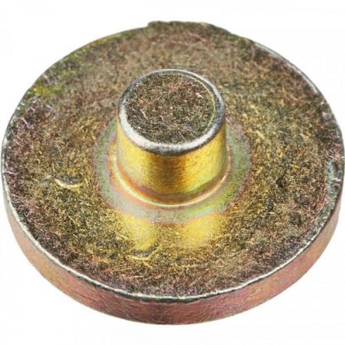 Плашка металлическая диаметр 24 мм дюраль