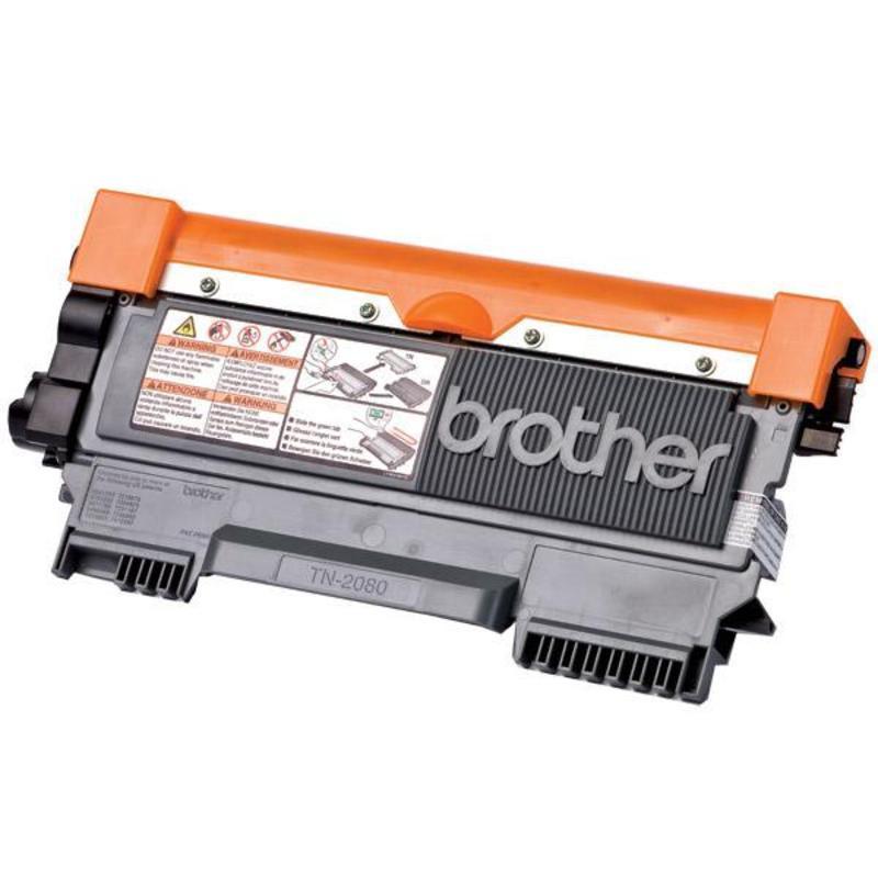 Картридж лазерный Brother TN-2080 черный оригинальный