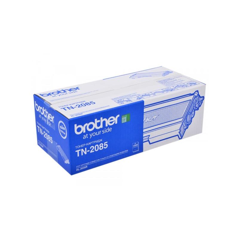 Картридж лазерный Brother TN-2085 черный оригинальный