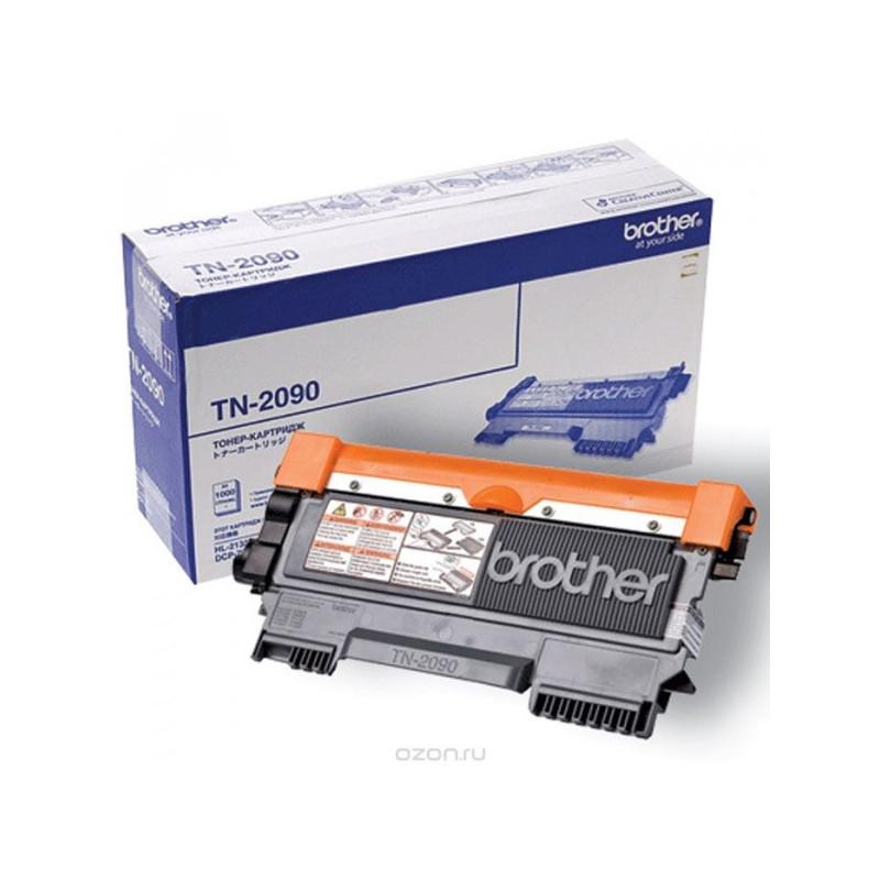 Картридж лазерный Brother TN-2090 черный оригинальный