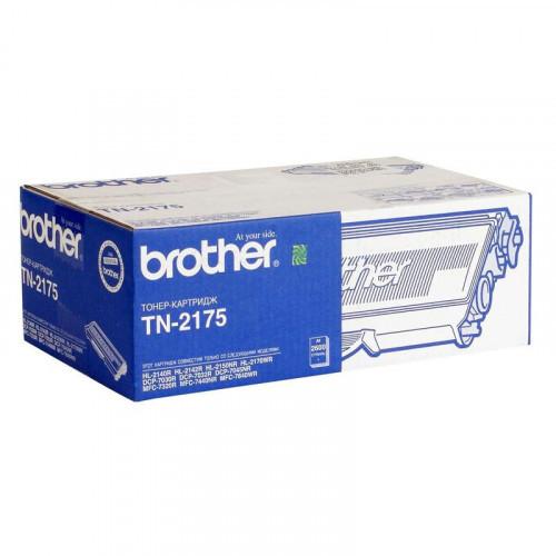 Картридж лазерный Brother TN-2175 черный оригинальный