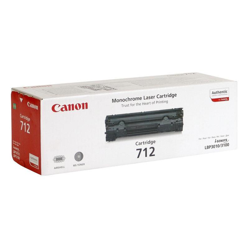 Картридж лазерный Canon Cartridge 712 1870B002 черный оригинальный
