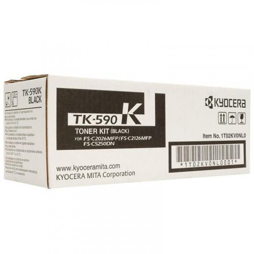 Тонер-картридж лазерный Kyocera TK-590K черный оригинальный