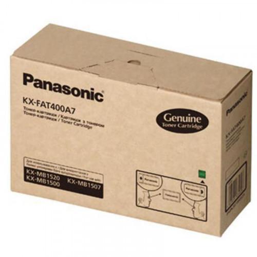 Тонер-картридж Panasonic KX-FAT400A7 черный оригинальный
