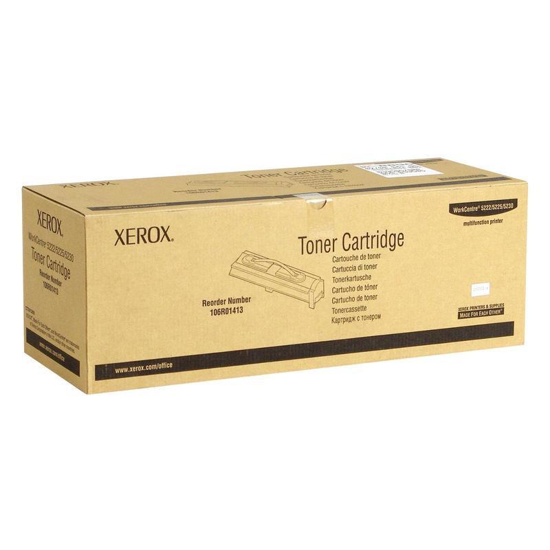 Тонер-картридж Xerox 106R01413 черный оригинальный