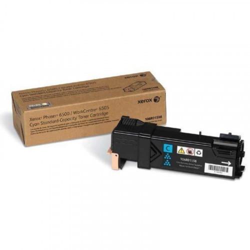 Картридж лазерный Xerox 106R01598 голубой оригинальный
