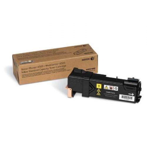 Картридж лазерный Xerox 106R01600 желтый оригинальный