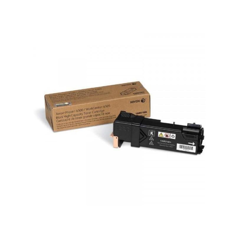Картридж лазерный Xerox 106R01604 черный оригинальный