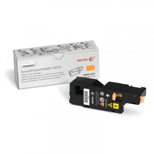 Картридж лазерный Xerox 106R01633 желтый оригинальный