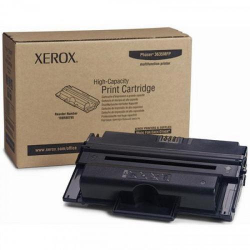 Картридж лазерный Xerox 108R00796 черный оригинальный