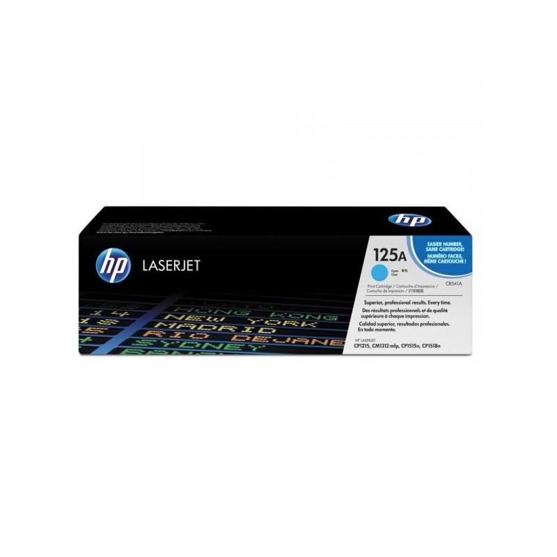 Картридж лазерный HP 125A CB541A голубой оригинальный