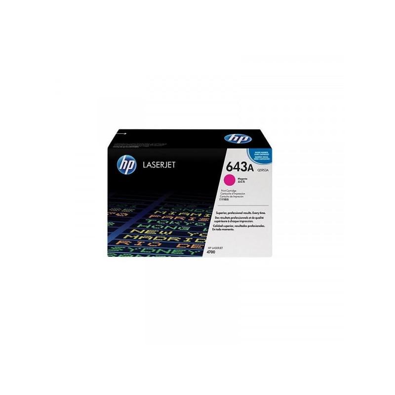 Картридж лазерный HP 643A Q5953A пурпурный оригинальный