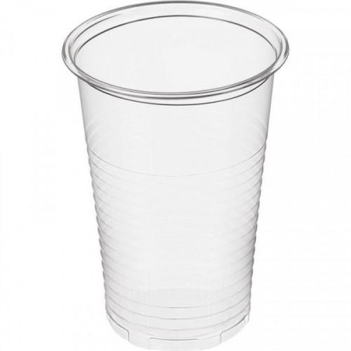 Стакан одноразовый для холодных и горячих напитков 0.20 л прозрачный ПП 100 шт