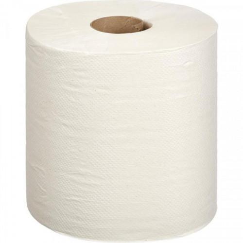 Полотенца бумажные в рулонах Терес Комфорт Макси 1-слойные 6 рулонов по 270 метров