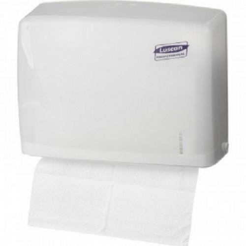 Держатель для листовых полотенец Luscan Professional слож Z белый-прозR-1317TW