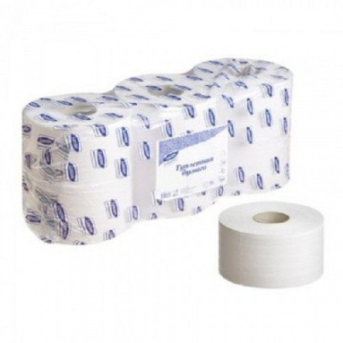 Бумага туалетная д/держ. Luscan Professional 2 сл. 250 м. 6рул