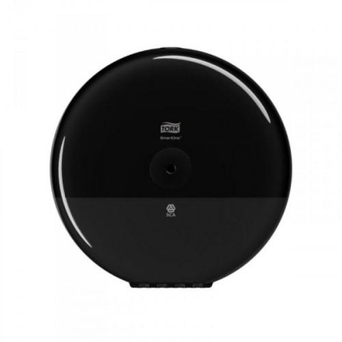 Держатель для туалетной бумаги в рулонах Tork SmartOne Elevation T8 680008 пластиковый черный