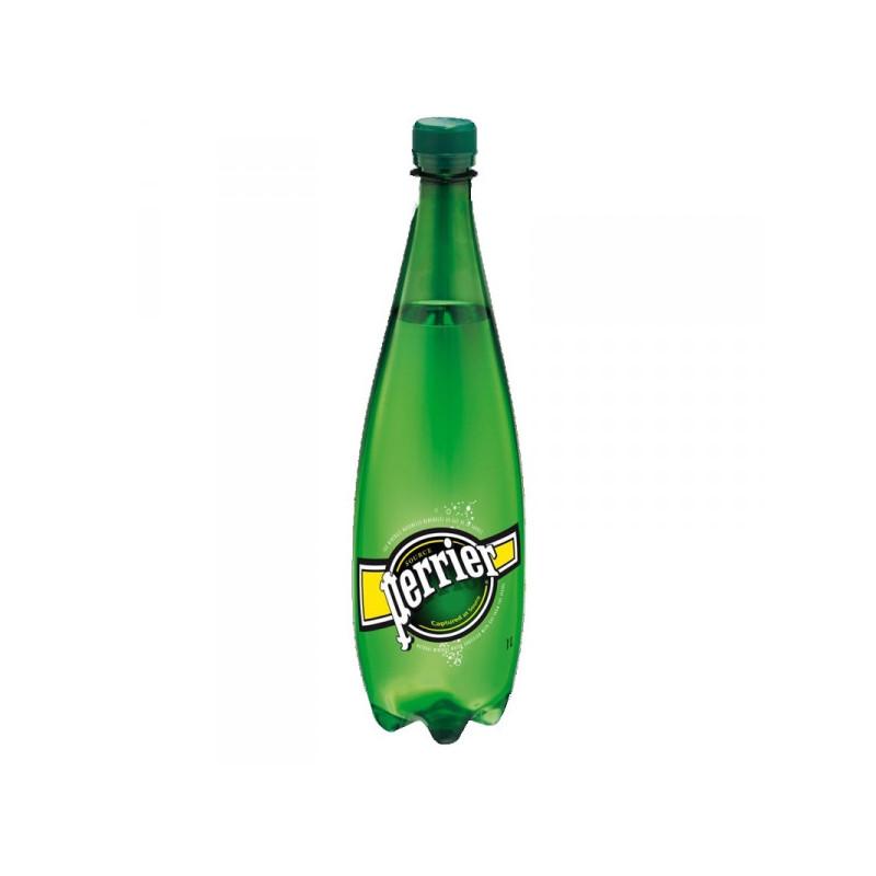 Вода минеральная Perrier газированная 1 литр 6 штук в упаковке