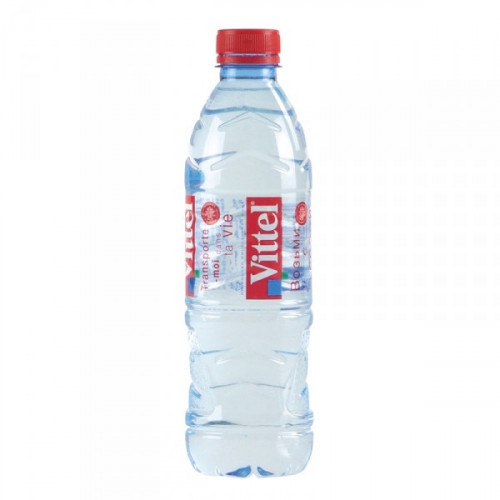 Вода минеральная Vittel негазированная 0.5 литра 6 штук в упаковке