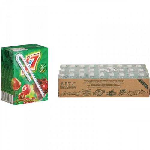Нектар J7 вишня 0.2 литра 27 штук в упаковке