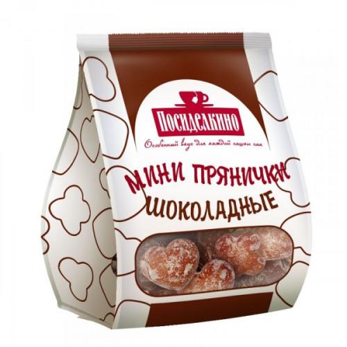 Пряники Посиделкино Классические мини шоколадные 300 грамм