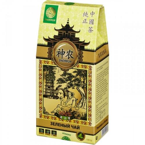 Чай Shennun Мо Ли Мао Фен зеленый листовой с жасмином 100 грамм