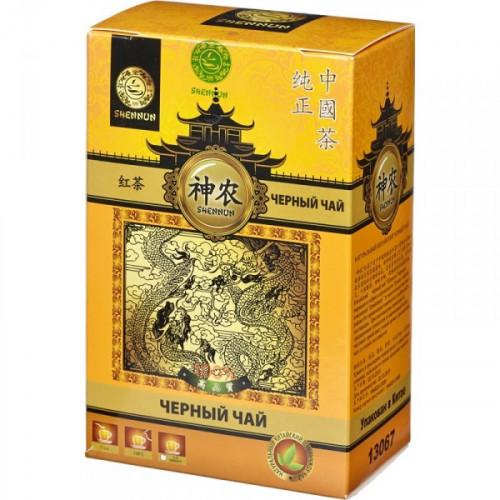 Чай Shennun Дянь Хун черный листовой 100 грамм