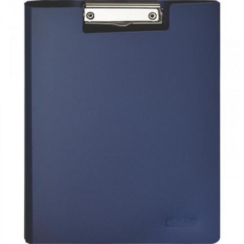 Папка-планшет с крышкой Attache пластиковая синяя 1.2 мм