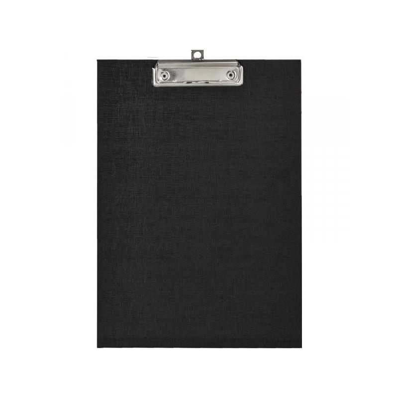 Папка-планшет Attache картонная черная 1.75 мм