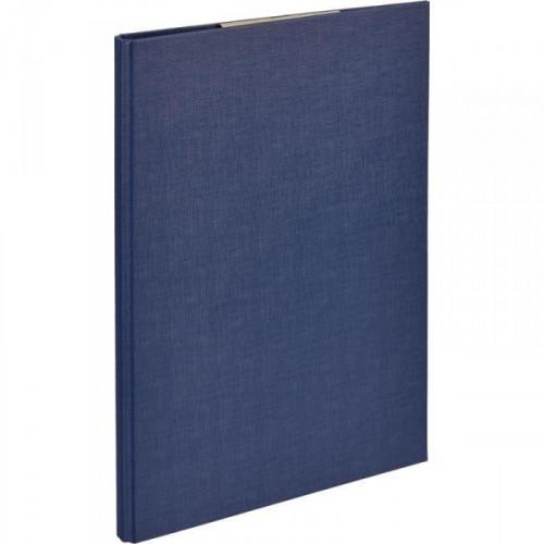 Папка-планшет Attache A4 синяя с верхней створкой
