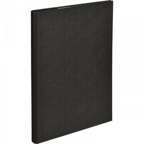 Папка-планшет Attache A4 черная с верхней створкой