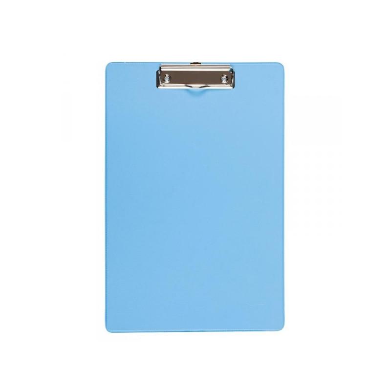 Папка-планшет Bantex картонная голубая 2.7 мм