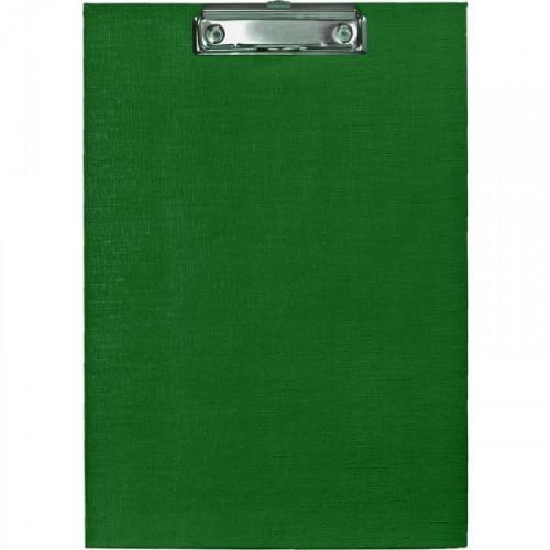 Папка-планшет Attache картонная зеленая 1.75 мм