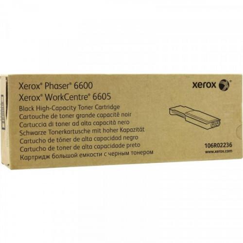 Тонер-картридж Xerox 106R02236 черный оригинальный