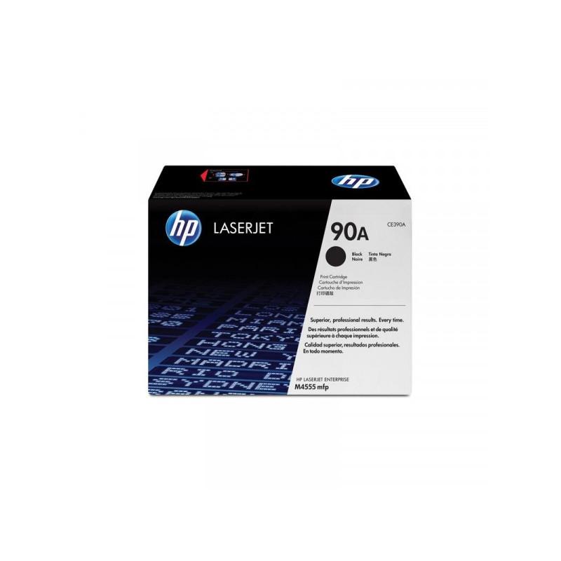 Картридж лазерный HP 90A CE390A черный оригинальный