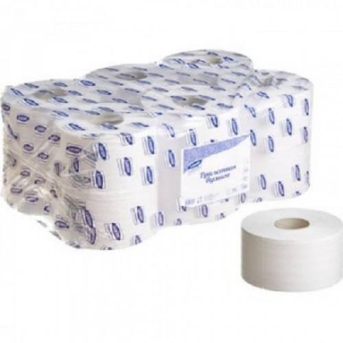 Бумага туалетная д/держ. Luscan Professional 2 сл. 170 м. 12рул
